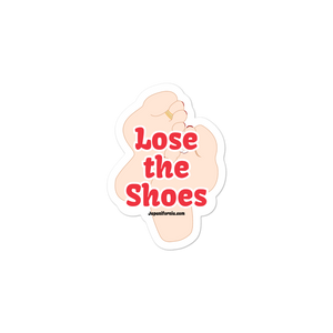 Lose the Shoes Sticker