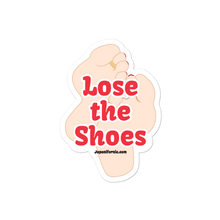 Load image into Gallery viewer, Lose the Shoes Sticker