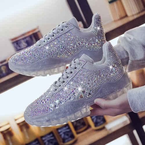 70% OFF TODAY - Bling Bling Sparkle Sneakers
