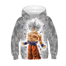 Load image into Gallery viewer, Kids Hoodie Dragon Ball Cool Man Baseball uniform