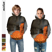 Load image into Gallery viewer, Kids Hoodie My World 1 Baseball uniform