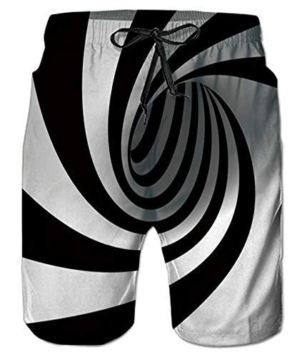 Cool Graphic Swimming Novelty Summer Board Shorts Trunks