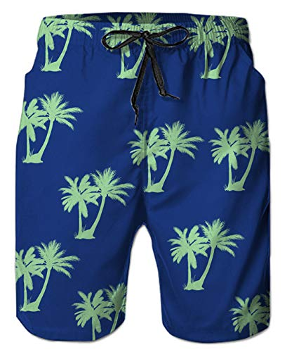 c36f42e636 Uideazone Casual Swim Trunks with Pockets Graphic Beach Shorts
