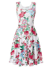 Load image into Gallery viewer, Uideazone Women's Sleeveless Summer Casual Floral Dress