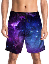 Load image into Gallery viewer, 3D Galaxy Printed Funny Swim Quick Dry Shorts Trunks