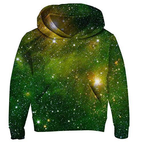b49a12fba2 Uideazone Junior Boys 3D Nebula Star Pullover Hoodie