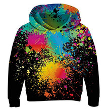 Load image into Gallery viewer, Unisex Boys Girls Realistic Printed Graffiti Hoodie Casual