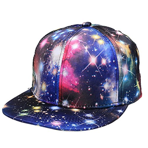 Baseball Cap Galaxy Adjustable Unisex Hip Hop Snapback Hats