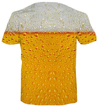 Load image into Gallery viewer, Uideazone 3D Beer Pattern Hawaii Printed T-Shirts
