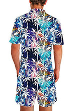 Load image into Gallery viewer, Floral Print Hawaiian Romper Tropical Outfit Overall