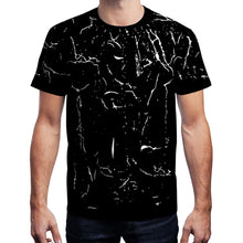 Load image into Gallery viewer, Classic Black White Crew Neck Short Sleeve Tshirt