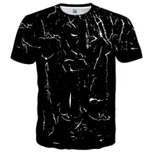 Load image into Gallery viewer, Neemanndy Classic Black White Crew Neck Short Sleeve Tshirt