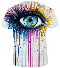 Load image into Gallery viewer, Uideazone Men's 3D Creative Print Short Sleeve T-Shirt
