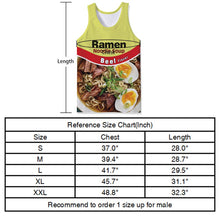 Load image into Gallery viewer, Uideazone Noodle Men's Tank Tops Workout Sleeveless Tee