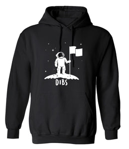 Flag on The Moon Astronaut Space Stars Funny Hoodie