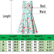 Load image into Gallery viewer, Little Girls Unicorn Cute Funny A-Line Sleeveless Dress