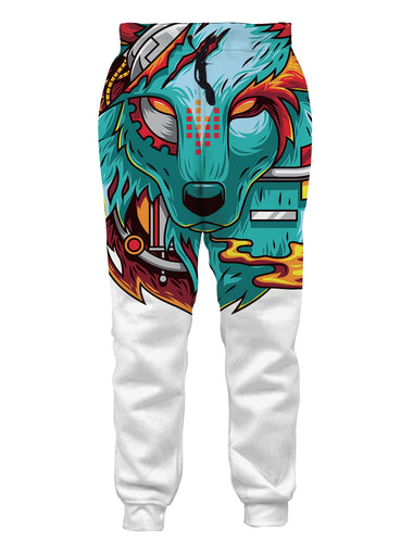 Animal Wolf New Jogger Pants Sweatpants