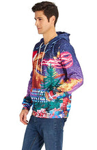 Load image into Gallery viewer, Graphic Merry Christmas Kids Ugly Dinosaur Pullover  Hoodies