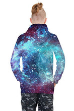 Load image into Gallery viewer, Uideazone 3D Nebula Star Cluster Pullover Hooded Hoodie