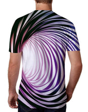 Load image into Gallery viewer, A-eddy Cool Graphic Tees Novelty Swirl T-Shirts