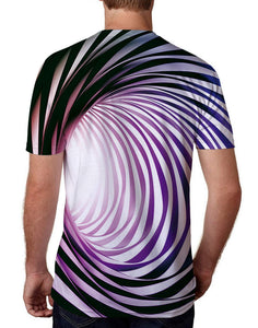 A-eddy Cool Graphic Tees Novelty Swirl T-Shirts