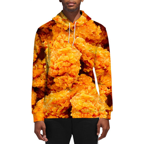 3D Print Male Fried Chicken Hoodie
