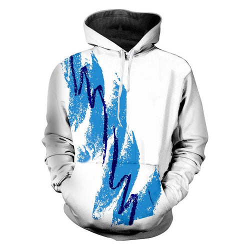 90s Jazz Solo Paper Cup 3d Hoodie