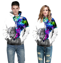 Load image into Gallery viewer, Einstein Smoke Universe 3d Print Hoodies