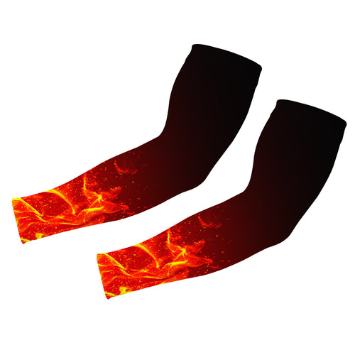 UV Protection Cooling Sports Compression Fire Arm Sleeves