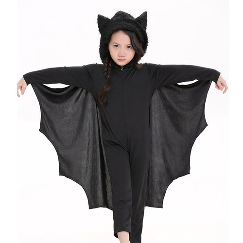 Girl Child Anime Cosplay Cute Bat Halloween Costume