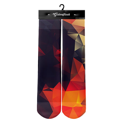 3D Print Male Abstract Glow Socks
