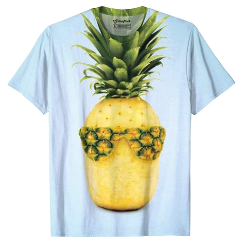 3D Print Male Cool Pineapple Tee