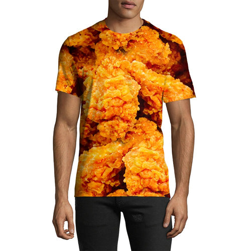 3D Print Male Fried Chicken Tee