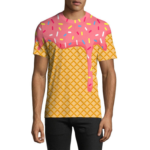 3D Print Male Ice Cream Dripping Tee