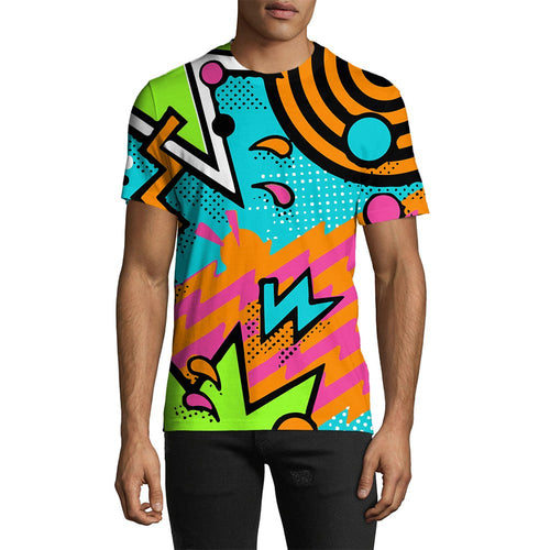 3D Print Male 90s Party Tee
