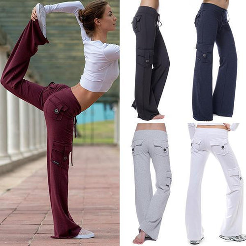 Casual Stretchy Eco-friendly Bamboo Yoga Pants
