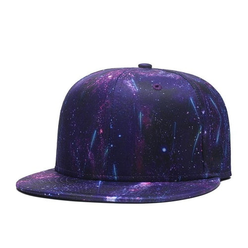 Galaxy Adjustable Baseball Snapback Starry Sky Space Dad Hat