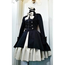 Load image into Gallery viewer, Gothic Lolita Halloween Dress Lace Bodysuits Vintage Cosplay Costume