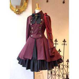 Gothic Lolita Halloween Dress Lace Bodysuits Vintage Cosplay Costume