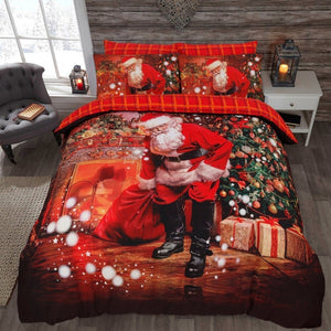 3D Printed Christmas Santa Bedding Set