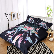 Load image into Gallery viewer, Boho Doona Big Dream Catcher Bedding Set