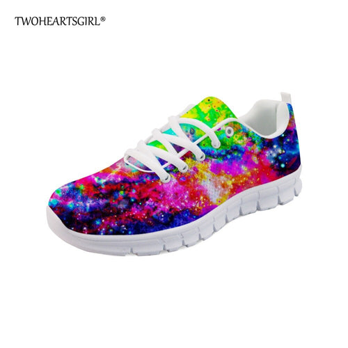 Galaxy Star Space Sneakers for Women