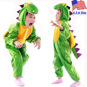 Boy Girl Cute Cartoon Animal Dinosaur Costume Cosplay