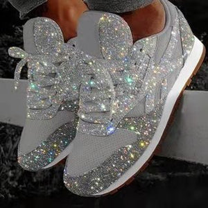 Women Bling Sneakers 2019 Autumn New Casual Flat