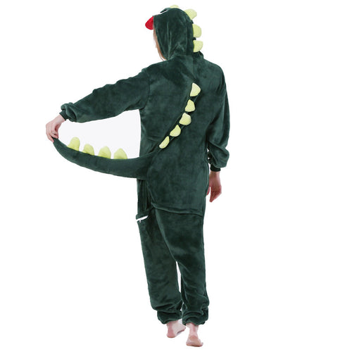 Dinosaur Pajamas Sets Winter Cartoon Sleepwear Stitch Unicorn Pajamas