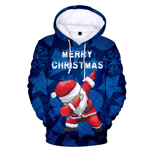 Christmas 3D Hoodies Men/Women Popular Casual Anime 3D Hoodie