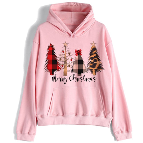 Christmas hoodie women/men harajuku 90s funny kawaii Sweatshirt