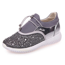 Load image into Gallery viewer, Shoes Women Plus Size 36-44 Fashion Lady Platform Casual Sneakers