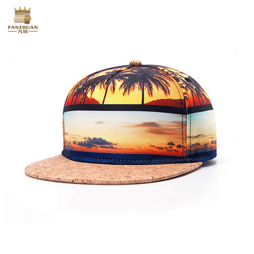 Casual Thermal Stereo Stitching Hip Cap Hat Palace