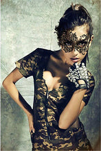 Load image into Gallery viewer, 1PCS Sexy Women Black Halloween Lace Eye Face Mask